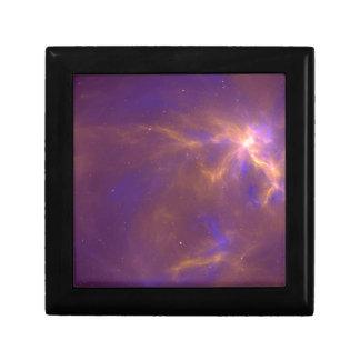 Spider Nebula Fractal Jewelry Box