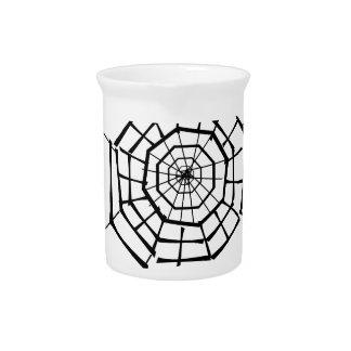 spider nest beverage pitcher