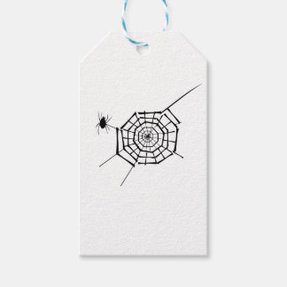 spider nest gift tags