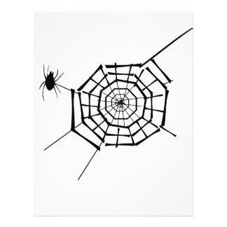 spider nest letterhead