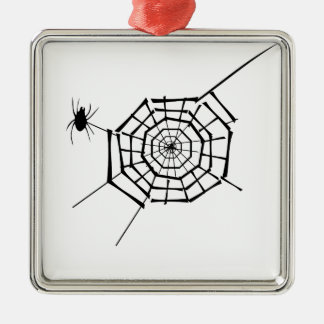 spider nest metal ornament