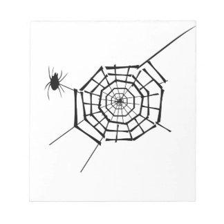spider nest notepad
