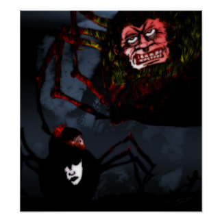 Spider People Poster