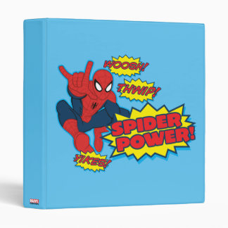 Spider Power Spider-Man Graphic Binder