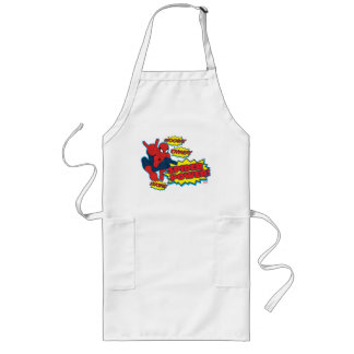 Spider Power Spider-Man Graphic Long Apron