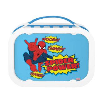 Spider Power Spider-Man Graphic Lunchbox