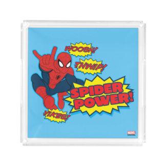 Spider Power Spider-Man Graphic Serving Tray