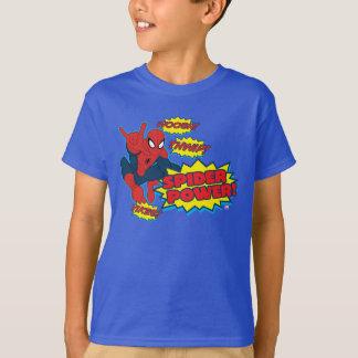 Spider Power Spider-Man Graphic T-Shirt