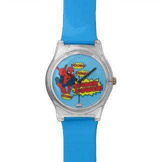 Spider Power Spider-Man Graphic Watches