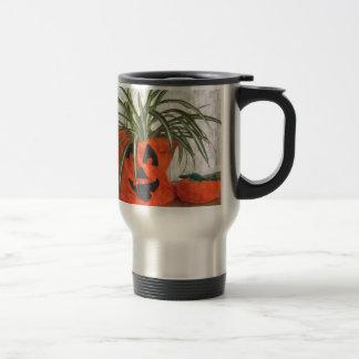 Spider Pumpkin Travel Mug