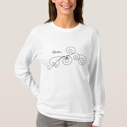 Spider Swirl No.1 T-Shirt