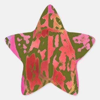 Spider thoghts star sticker