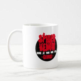 Spider Venom. Drink at your own risk. Coffee Mug