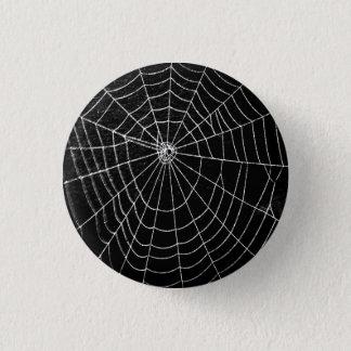 SPIDER WEB 1 INCH ROUND BUTTON