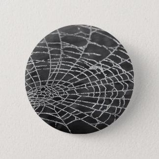 Spider Web 2 Inch Round Button