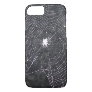Spider Web At Night iPhone 8/7 Case