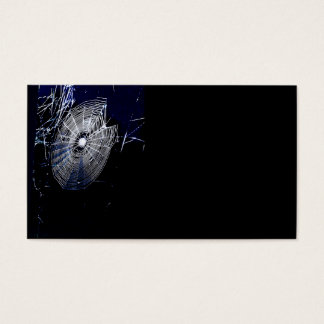 """Spider Web Business Card, 3.5"""" x 2.0"""" Business Card"""