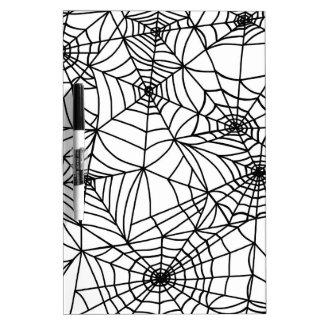 Spider Web Dry Erase Board