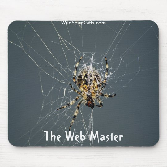 "'Spider Web"" gifts Mouse Pad"