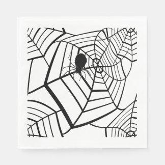 Spider Web - Halloween - Paper Napkin