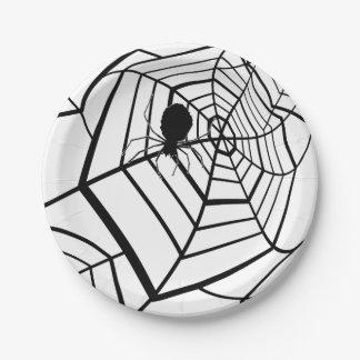 Spider Web - Halloween - Paper Plate