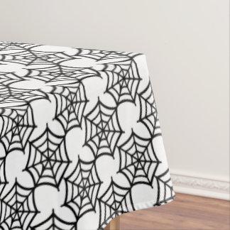 spider web halloween pattern tablecloth