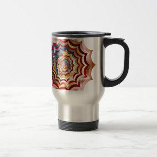 spider web hypnotic revitalized travel mug