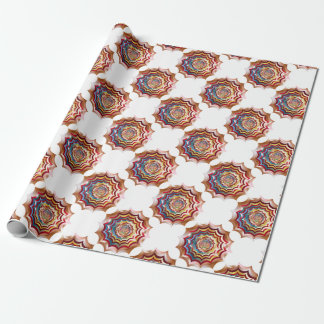spider web hypnotic revitalized wrapping paper