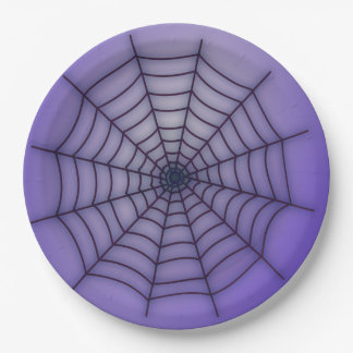 Spider-Web Paper Plate