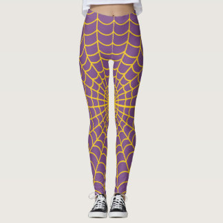 Spider Web Pattern ~Click Customize ~Change Color~ Leggings
