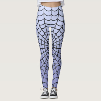 Spider Web Pattern ~ London Fog   Design ~ * ~ Leggings