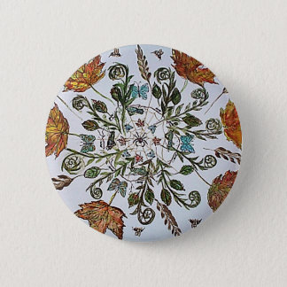 Spider Web - Spider - Ants and Bees 2 Inch Round Button