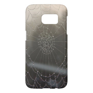 Spider Web With Morning Dew Samsung Galaxy S7 Case
