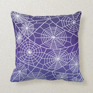 Spider Webs Throw Pillow