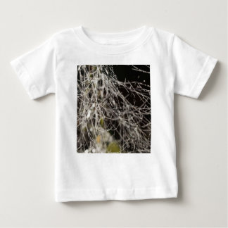 Spider webs with dew drops baby T-Shirt