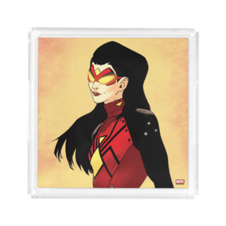 Spider-Woman Clenched Fists Acrylic Tray