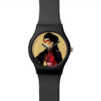 Spider-Woman Clenched Fists Wrist Watch