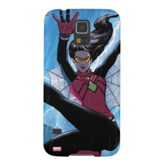 Spider-Woman Getting The Drop On Villain Galaxy S5 Cover