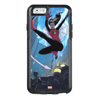 Spider-Woman Getting The Drop On Villain OtterBox iPhone 6/6s Case