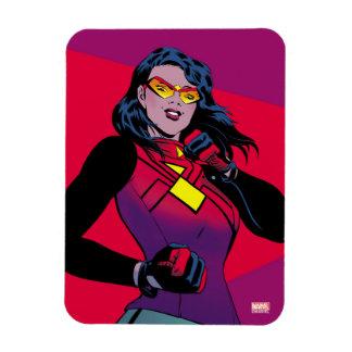 Spider-Woman Raised Fist Magnet