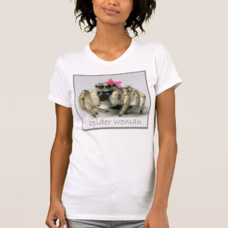 Spider woman with pink bow T-Shirt