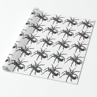 spider wrapping paper