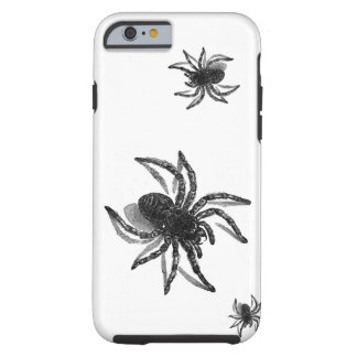 Spiders, Black & White Spider Insect Arthropod Tough iPhone 6 Case