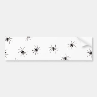 Spiders Bumper Sticker