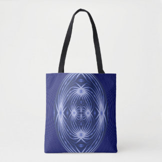 Spiders in a whirlpool... tote bag