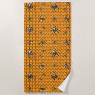 Spiders on Parade Beach Towel