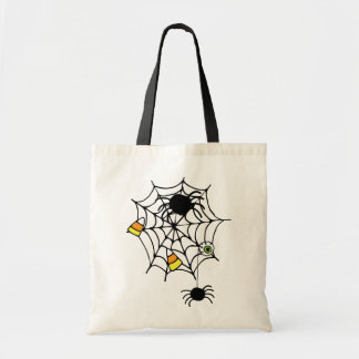 Spiders Spider Wed Halloween Candy Tote Bag