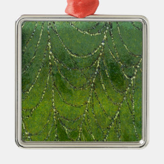 Spiders Web Metal Ornament