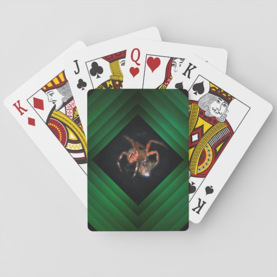 spiders web poker deck