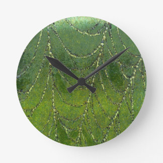 Spiders Web Round Clock
